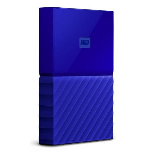 Външен диск Western Digital MyPassport - 1TB (WDBYNN0010BBL)