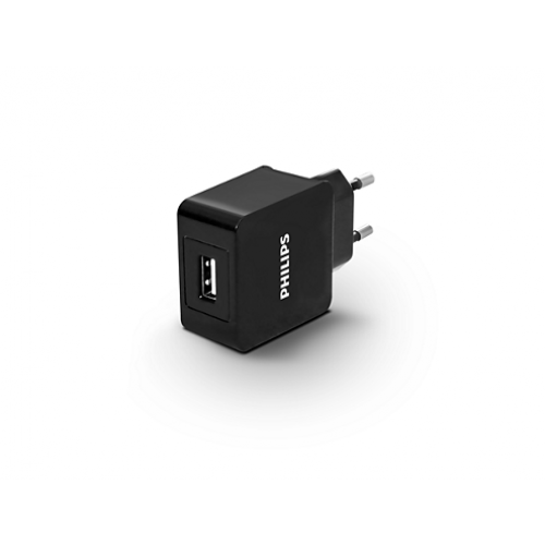 Универсално зарядно устройство Philips за 2 USB устройства 5V/2.1A