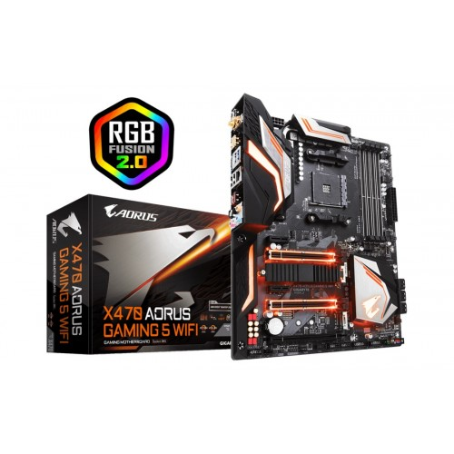 Дънна платка Gigabyte X470 AORUS GAMING 5 WIFI / AM4