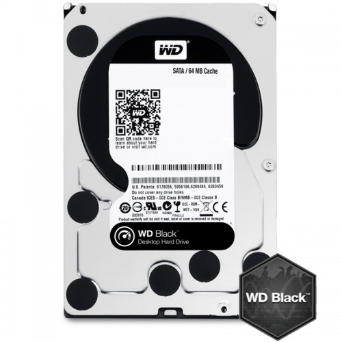 Твърд диск Western Digital Black - 1 TB (WD1003FZEX)