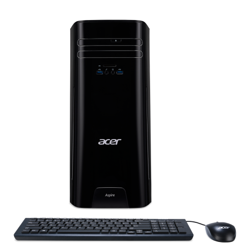 Компютър Acer Aspire TC-780 - i5-7400 / 8GB DDR4 / GT1030 2GB / 1TB HDD / Клавиатура + мишка