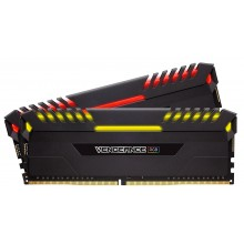 RAM Памет Corsair Vengeance Black 32GB (2x16GB) DDR4 - XMP 2.0 - RGB LED (CMR32GX4M2C3000C15)
