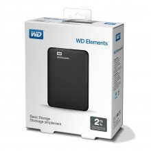 Външен твърд диск Western Digital Elements - 2TB (WDBU6Y0020BBK)