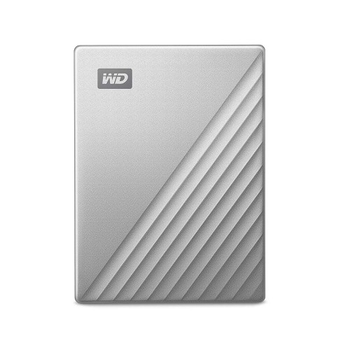 Външен диск WD MyPassport Ultra Silver 2TB / USB Type-C
