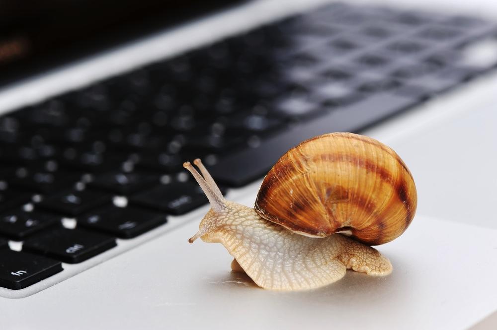 Бавен компютър